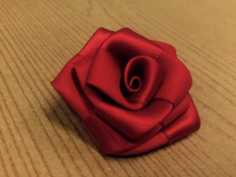 リボンのバラ完成|結婚式ムービーchouchou(シュシュ)