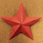 【海外発のインテリア】簡単かわいいティンバーンスターの作り方 part.2