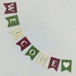 手作りフラッグガーランド無料テンプレート【結婚式のおしゃれインテリア】