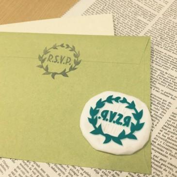 結婚式の招待状で使える消しゴムはんこを作ろう!【無料デザイン・作り方公開】 part.2