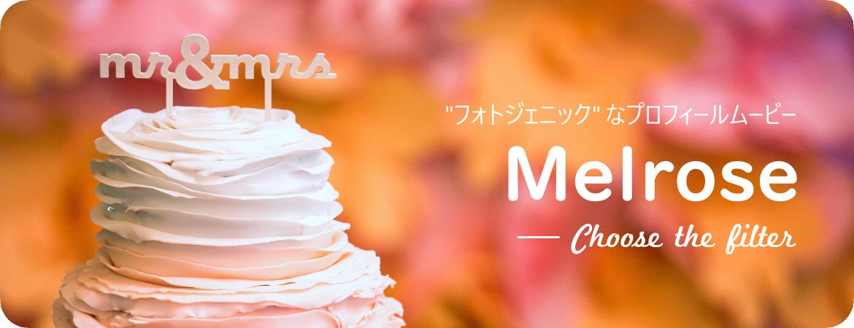特集:プロフィールムービー『Melrose』が大人かわいい!【春婚におすすめ】